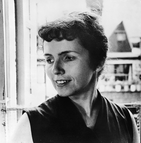 Grace Paley in 1959. Foto: Getty Images