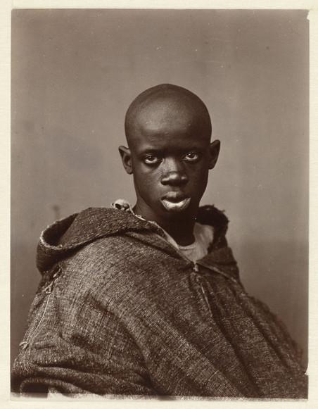 Portret van een Noord-Afrikaanse man, ca 1880. Foto: Antonio Cavilla / Rijksmuseum