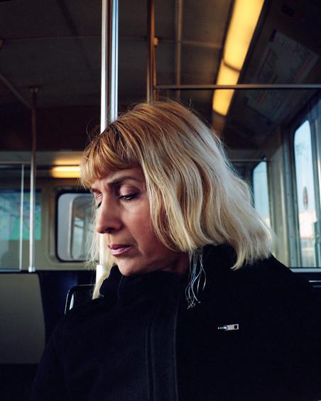 Uit de serie '9 portretten - Lijn 54 Amsterdam' van Jorn van Eck
