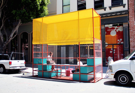 Een parklet in San Francisco. Foto: Stella Kim