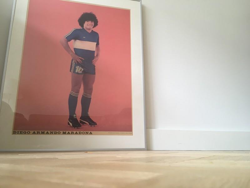 Diego Maradona, 1979-editie, in mijn woonkamer.