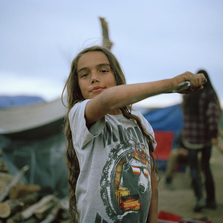 Uit de serie Faces of Standing Rock van fotograaf Mico Toledo