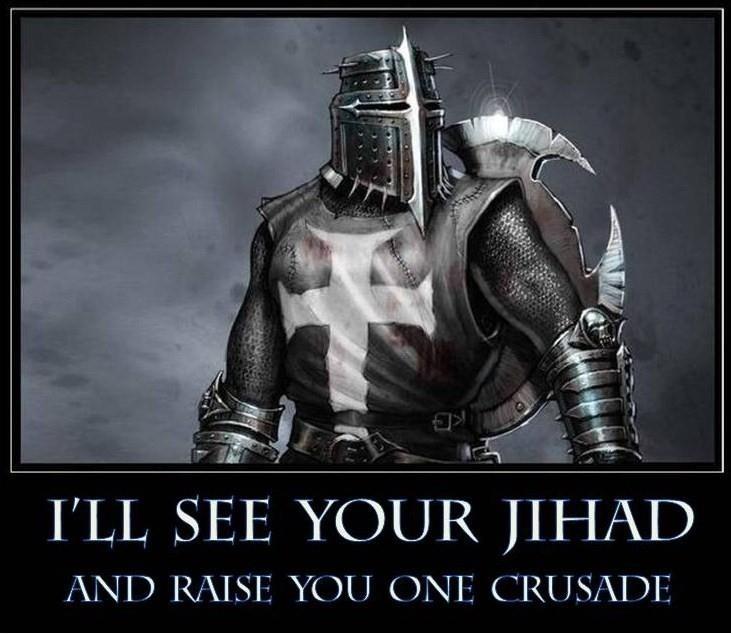 Een meme die onder andere door de English Defend League wordt gebruikt.