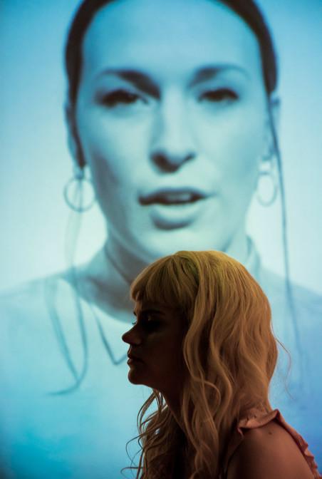 Tijdens de voorstelling CarryMe van Firma MES. Foto: Joris Jan Bos