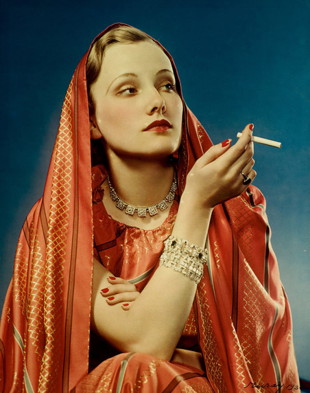 Een advertentie voor het sigarettenmerk Lucky Strike, 1936. Foto: Nickolas Muray / Getty Images