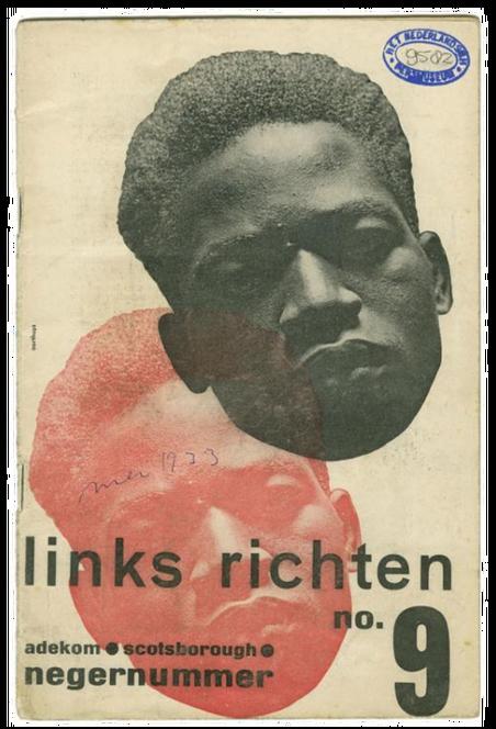 Het magazine Links Richten in 1933. Beeld: Internationaal Instituut voor Sociale Geschiedenis (catalogusrecord: PM 9582)