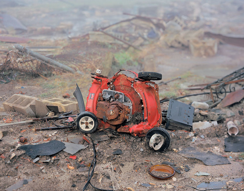 Uit de serie 'In Katrina's Wake: Portraits of Loss from an Unnatural Disaster' door Chris Jordan