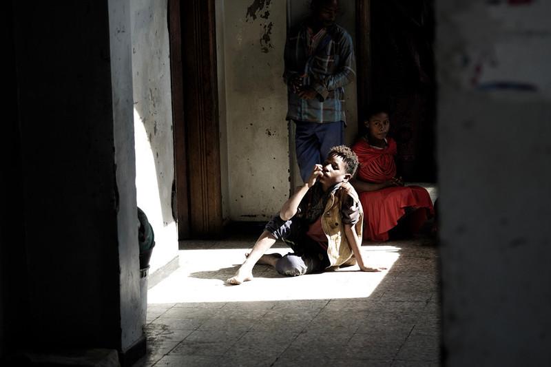 Vluchtelingenkamp in de buurt van Taiz. Foto: Andreas Staahl (voor De Correspondent)