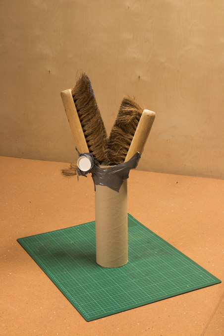 'Bezembeest', gemaakt door Bram (15). Foto: Majda Vidakovic (voor De Correspondent)