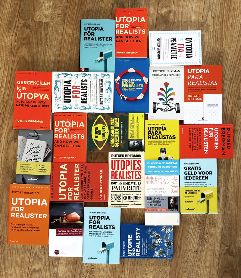 De edities die inmiddels in m'n boekenkast staan ;-)