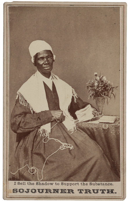 Sojourner Truth. Foto: Library of Congress