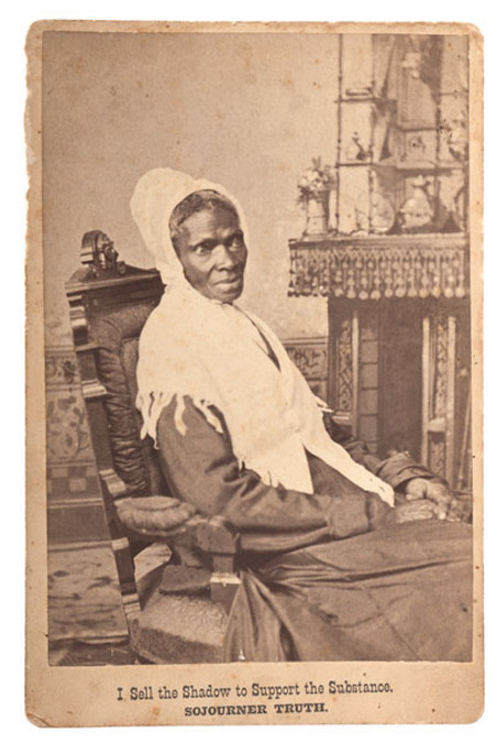 Sojourner Truth. Foto: National Portrait Gallery, Smithsonian Institution