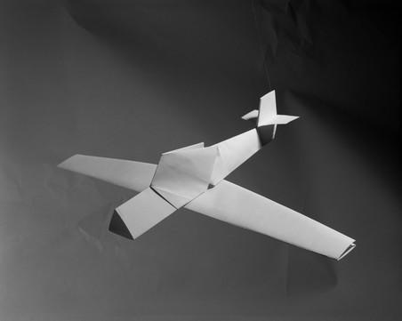 Ayaks (boven) en Wamira (onder), uit de serie Paper Planes van Sjoerd Knibbeler