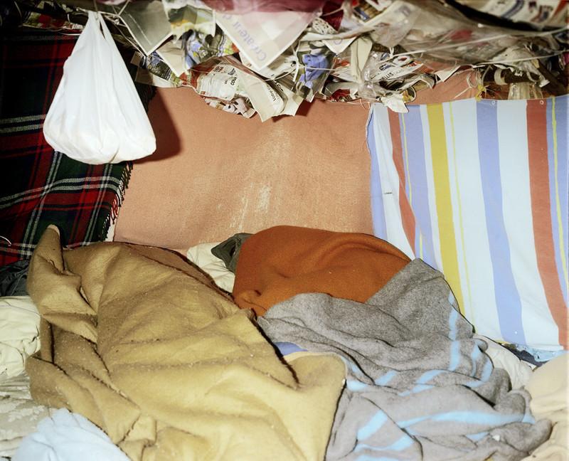 Calais (2006), uit de serie Shelter van Henk Wildschut.