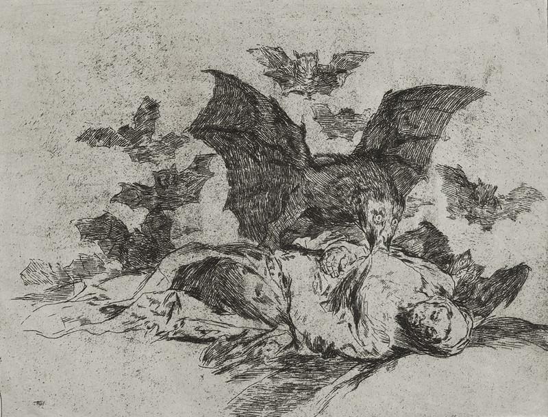 Las resultas (De gevolgen), Francisco Goya, circa 1814-1820