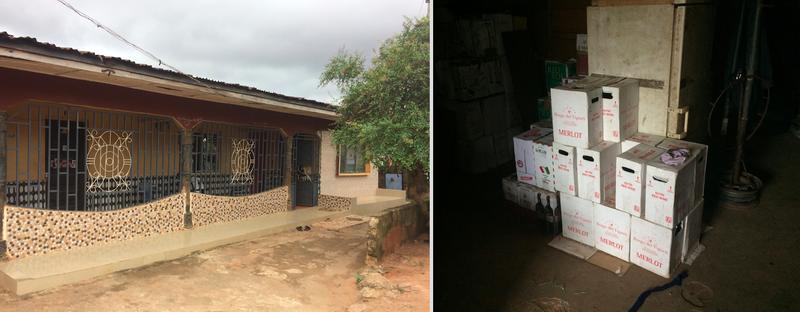 Overal in Benin City zie je de tekenen van Europa: mooie hekken rond huizen, flessen wijn uit Italië.