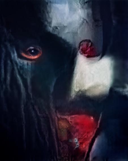 'Vampier'. Beeld uit de serie Hallucinations door Trevor Paglen.