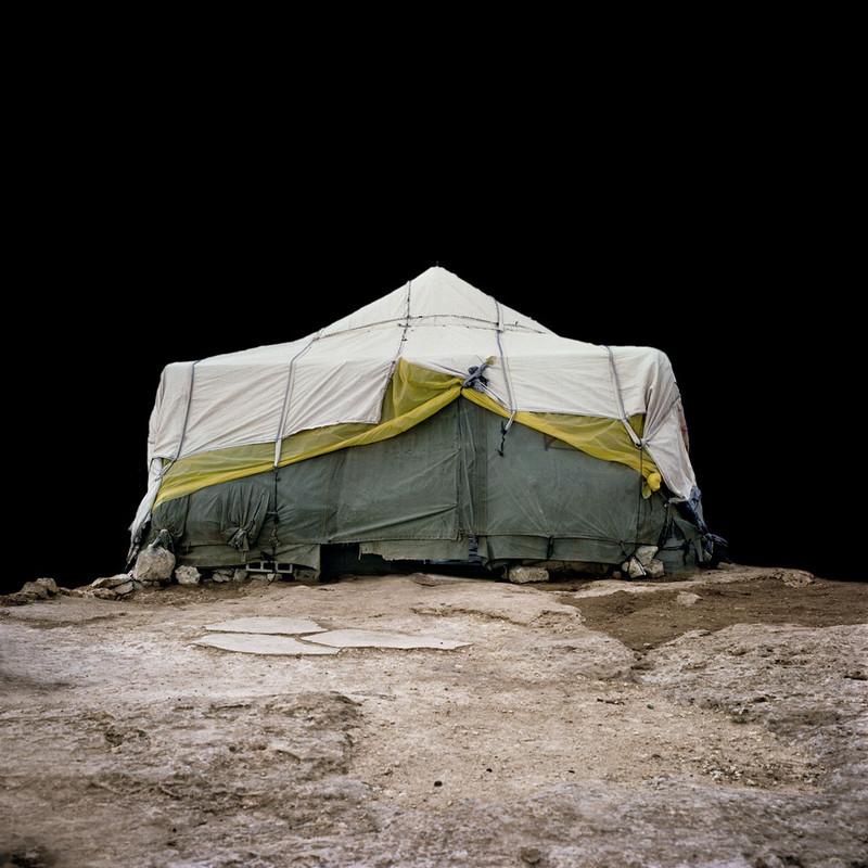 Uit de serie 'Houses', gemaakt op de Westelijke Jordaanoever door Alicja Dobrucka