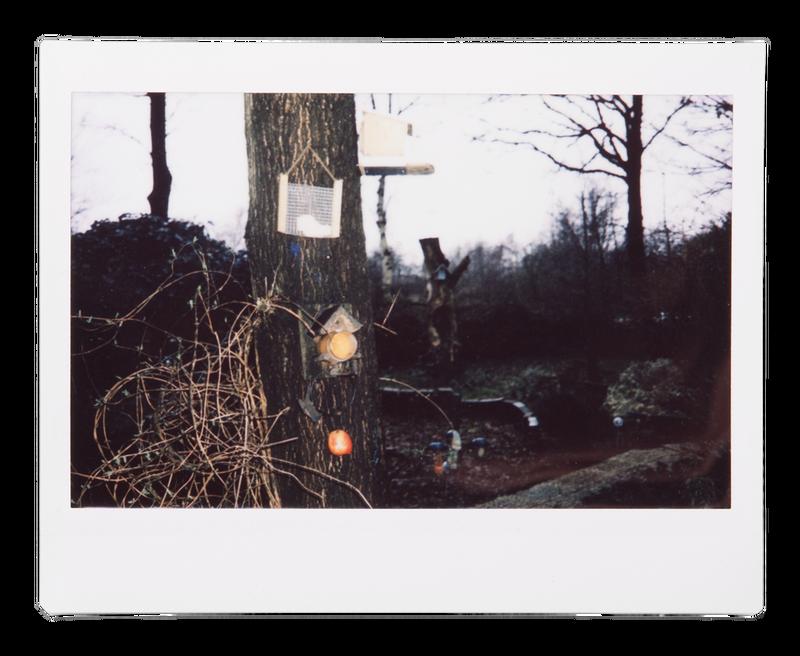 Foto: Johannes Visser, uit zijn serie 'Waar is dit knopje voor?'. Johannes maakte alle polaroids zelf, tijdens zijn bezoek aan Ans en Cor. Omdat het zijn eerste keer fotograferen was met deze camera, mocht hij de foto's ook passende titels geven.