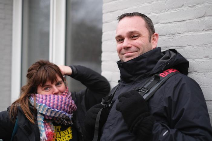 Lot en Niels. Foto: Arjen van Veelen