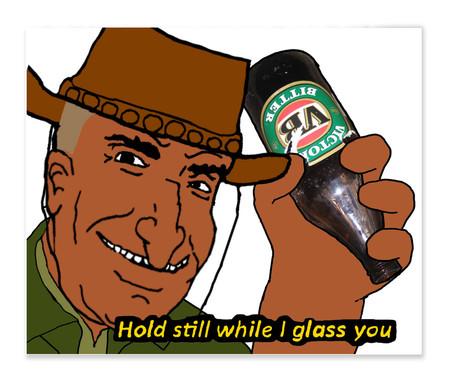 Deze meme wordt in antisemitische context gebruikt in Australische rechts-extremistische kringen.