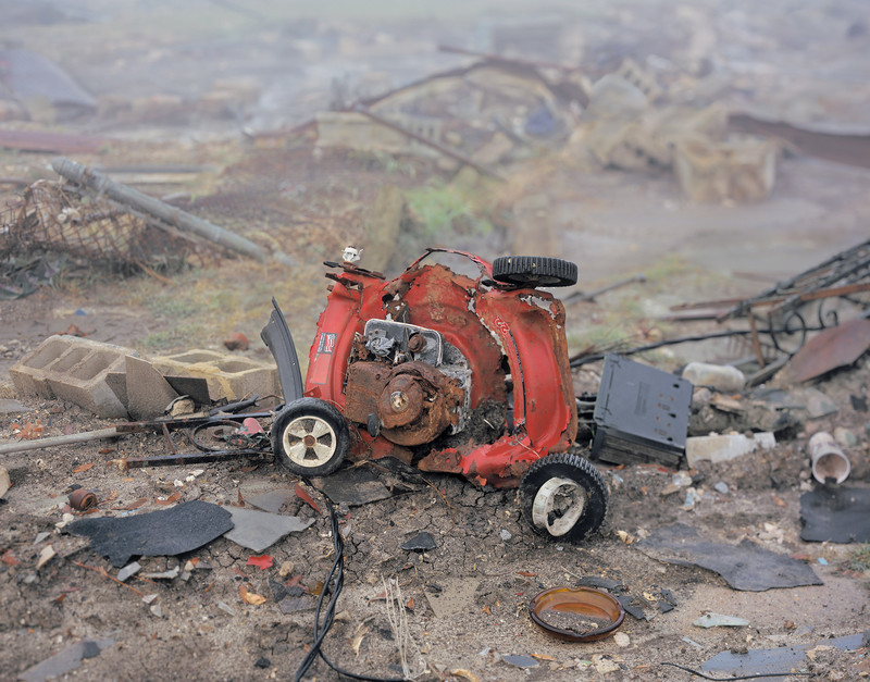 Uit de serie 'In Katrina's Wake: Portraits of Loss from an Unnatural Disaster' door Chris Jordan